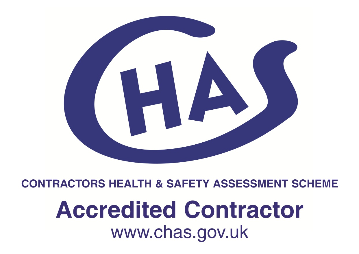 We are a CHAS accredited contractor